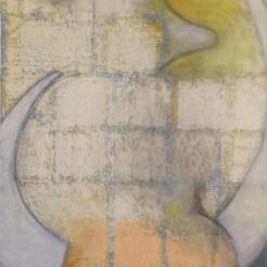 """""""SUNSHINE"""" 15""""x 30"""" acrylic and oil on canvas"""