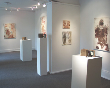 Gallery 31 North, Body Prints, Wooden Book