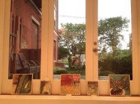 View out the Front Window - Smaller Paintings