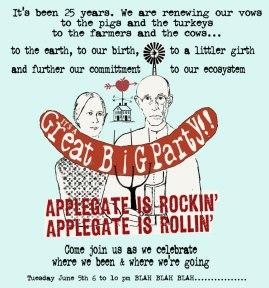 20th Anniversary, Applegate TFarms