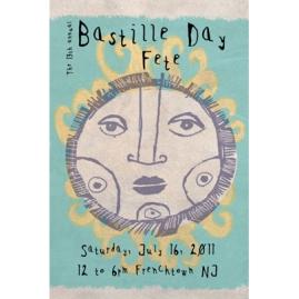 Bastille Day, Frenchtown NJ