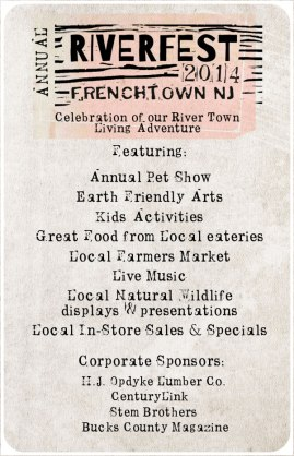 Frenchtown's RIVERFEST 2014