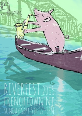 Frenchtown's RIVERFEST 2015