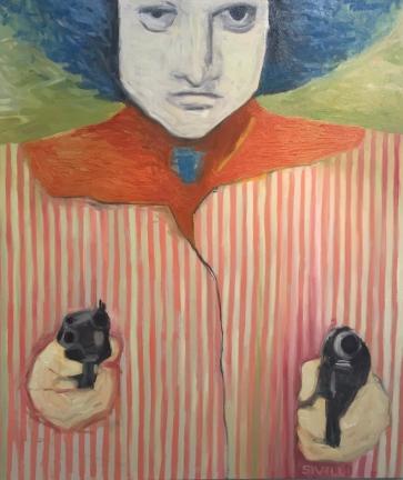 """My Sight"" 2 • Oil on Canvas - 38x42 - 2018"